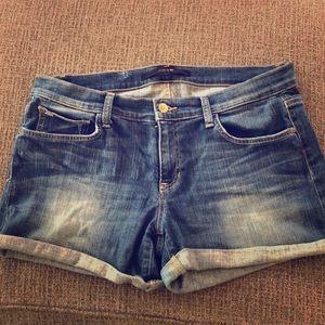 Cuffed denim shorts - Joe's Jeans